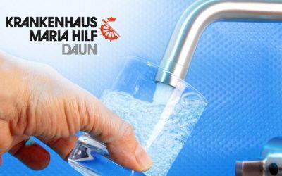 Neue Trinkwasser-Anlage im Krankenhaus Daun